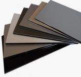 3mm de alto brillo PE Compposite de aluminio de recubrimiento Panel para el uso de la Junta de Publicidad