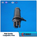 Fechamento da caixa comum/tala do cabo plástico impermeável da fibra óptica