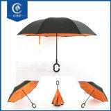 Обратный 2017 перемещения зонтика изготовления Китая выдвиженческое Windproof