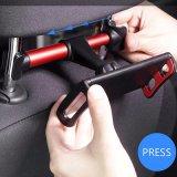 Bride universelle d'appui-tête de véhicule stand de Seatback de support de rotation de 360 degrés pour la tablette PC d'iPad de téléphone mobile