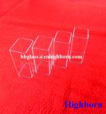 Fornecedor quente da tubulação do vidro de silicone do quadrado do Sell