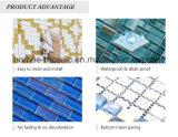 Mattonelle di mosaico di vetro di mosaico di spessore blu delle mattonelle per la piscina