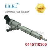 Diesel Erikc 0445 110.305 Bosch Fuel Injection 0445110305 Engine Spare Shares 6L Fuel Injector 0.445.110 305 Car Shares Fuel Injector for Kobelco Jmc