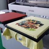 Nuevos 3D Digital amplia camiseta textil Impresora con doble cabeza de la PTF