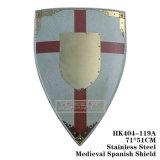 Het middeleeuwse Hangen 71*51cm HK404-119A/HK404-119b van de Muur van Schilden