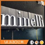 Carta de acrílico publicitaria por encargo de la visualización LED del mejor precio de la fábrica mini