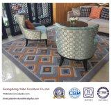 Les meubles faits sur commande d'hôtel avec le sofa de tissu ont placé (YB-O-44)