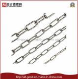 DIN763亜鉛によってめっきされる長いリンク金属の鎖