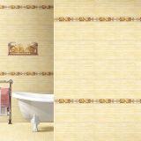 Porzellan 300*600 Finishe Bad-keramische Wand deckt Preis mit Ziegeln
