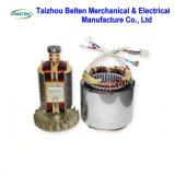 Conjunto de generador eléctrico popular del hogar de la gasolina del alambre de cobre 5kw con la maneta y las ruedas