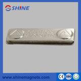 Porte-badge magnétique de deux pièces Aimants en néodyme