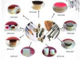 Diversos tipos de cabello brochas de maquillaje