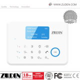 APP LCD de Controle do Sistema de Alarme de Intrusão GSM