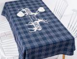 Impresso Faux tecido de linho toalha Sft02KT105