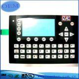 O interruptor de membrana apainela a etiqueta da tecla do teclado
