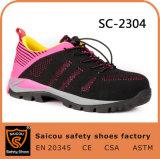 Laarzen van de Veiligheid van Saicou EVA+Rubber de Enige en de Verwijderbare Schoenen van het Werk van de Schoenen van de Veiligheid voor Mensen Sc-2304