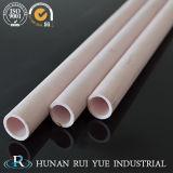 Tubo di ceramica dell'allumina termoresistente 99