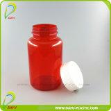 bottiglia medicinale di plastica rossa dell'animale domestico 400ml con la protezione di plastica