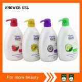 Etiqueta personalizada de esencias naturales de baño corporal Gel de ducha Wholesale