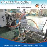 Harte granulierende Plastikzeile des Schrott-PP/PS/PE/PVC/Plastikaufbereitenstrangpresßling-Maschine