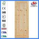 Дверь трасучки белых материалов украшения деревянная (JHK-001)