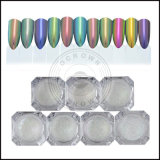Pigmento opaco metallico del polacco del gel del chiodo del Chameleon, polvere acrilica