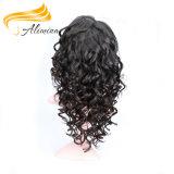 Pelucas llenas llenas del cordón del pelo humano de las pelucas del cordón de la calidad