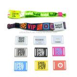 Kundenspezifisches Musik-Festival-GewebeRFID Armband/Wristband