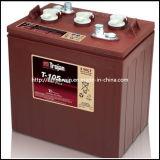Trojan T105 bateria 6V 225Ah tipo inundada de ciclo profundo utilizados para carrinho de golfe Club Car
