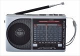 Portables Radio der Band-FM/AM/SW1-7 9 mit USB/TF/Rechargeable/Bluetooth