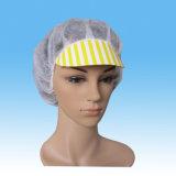 Chapeau remplaçable d'ouvrier de pp avec la crête et l'avançon et l'élastique