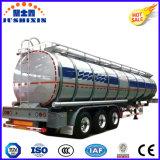 de 3-Axle 33000L do tanque reboque de alumínio Semi para o transporte do combustível