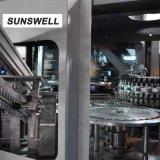 Sunswell Combiblock plafonnement de l'eau de remplissage de soufflage de la machine avec l'emballage en bois