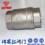 Acero inoxidable 304/316L Válvula de retención horizontal