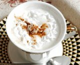 Schäumender Rahmtopf für Cappucino, Kaffee