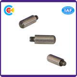 Acero de carbono de M6 DIN/ANSI/BS/JIS/tornillo fijo cilíndrico principal redondo no estándar inoxidable del Pin