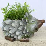 Flowerpot отделки гранита формы Hedgehog нового прибытия симпатичный