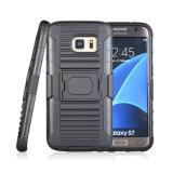 Cas combiné de téléphone cellulaire Arrrival de boucle de 2018 d'étui neuf de Kickstand pour le cas de bord de Samsung S7