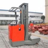 긴 물자 운반대 2.5t 2500kg 4 방법 판매를 위한 전기 범위 포크리프트