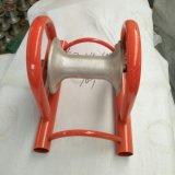 Rouleau de câble en aluminium avec base en acier galvanisé