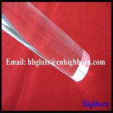 Bâtons transparents en verre de quartz protégé par fusible de résistance thermique
