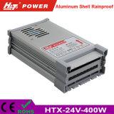 24V 16A 400W LED 변압기 AC/DC 엇바꾸기 전력 공급 Htx