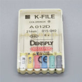 Sortierter zahnmedizinische K-Datei Niti Endo Wurzel-Kanal-Handgebrauch