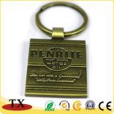 Anneau de clé touristique souvenir souvenir en alliage de zinc de la chaîne de clé