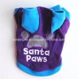 Roupa do cão do coelho do inverno com chapéu, roupa morna do revestimento do animal de estimação