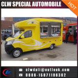 Alimentos de preparación rápida Van/carro móvil del carro del alimento del alimento para el pollo frito, cerveza, carro móvil del alimento del bocado