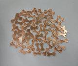 衣服のためのローズの金のバッジの弓形