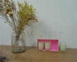 Velas de Soya de la copa de cristal, velas aromáticas, sin humo, Non-Toxic