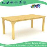 学童の木の長方形表の机の家具(HG-3902)