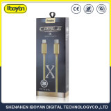이동 전화를 위한 주문을 받아서 만들어진 번개 USB 데이터 충전기 철사
